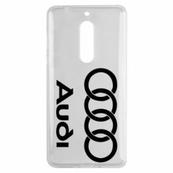 Чехол для Nokia 5 Audi - FatLine