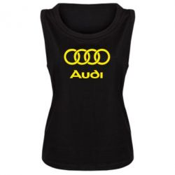 Женская майка Audi - FatLine