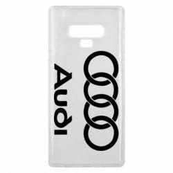 Чехол для Samsung Note 9 Audi - FatLine
