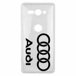 Чехол для Sony Xperia XZ2 Compact Audi - FatLine