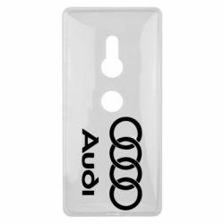 Чехол для Sony Xperia XZ2 Audi - FatLine