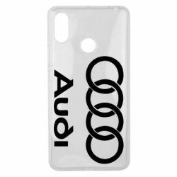 Чехол для Xiaomi Mi Max 3 Audi - FatLine