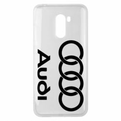 Чехол для Xiaomi Pocophone F1 Audi - FatLine