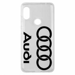 Чехол для Xiaomi Redmi Note 6 Pro Audi