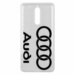 Чехол для Nokia 8 Audi - FatLine