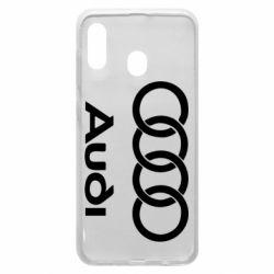 Чехол для Samsung A20 Audi - FatLine