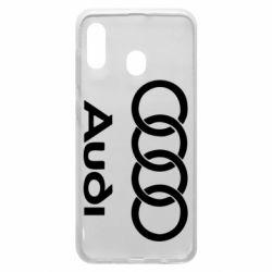 Чехол для Samsung A30 Audi - FatLine
