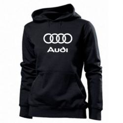Женская толстовка Audi - FatLine