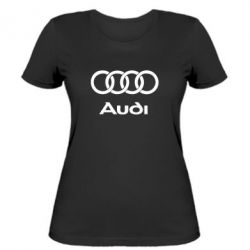 Жіноча футболка Audi - FatLine