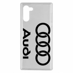 Чехол для Samsung Note 10 Audi