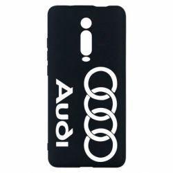 Чехол для Xiaomi Mi9T Audi - FatLine