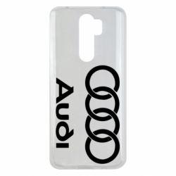 Чехол для Xiaomi Redmi Note 8 Pro Audi - FatLine