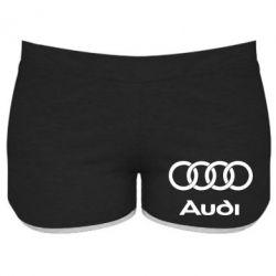 Женские шорты Audi - FatLine