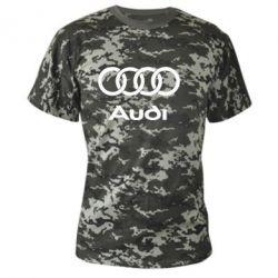 Камуфляжная футболка Audi - FatLine