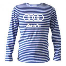 Тельняшка с длинным рукавом Audi - FatLine