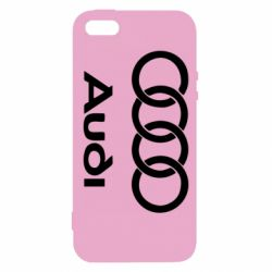 Чехол для iPhone5/5S/SE Audi - FatLine