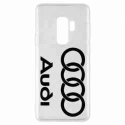 Чехол для Samsung S9+ Audi