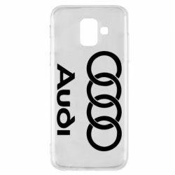 Чехол для Samsung A6 2018 Audi - FatLine