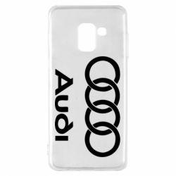 Чехол для Samsung A8 2018 Audi - FatLine