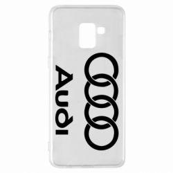 Чехол для Samsung A8+ 2018 Audi - FatLine