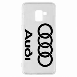 Чехол для Samsung A8+ 2018 Audi