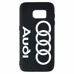 Чехол для Samsung S7 Audi