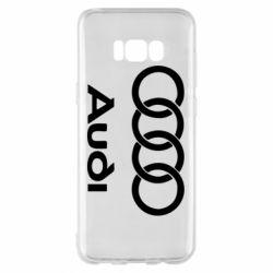 Чехол для Samsung S8+ Audi