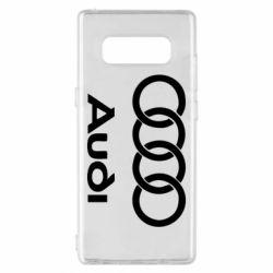 Чехол для Samsung Note 8 Audi - FatLine