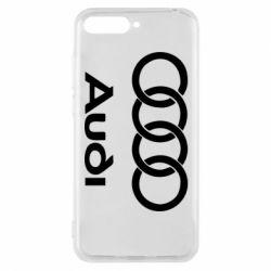 Чехол для Huawei Y6 2018 Audi - FatLine