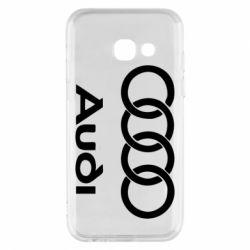 Чехол для Samsung A3 2017 Audi - FatLine