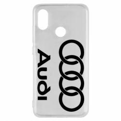 Чехол для Xiaomi Mi8 Audi - FatLine