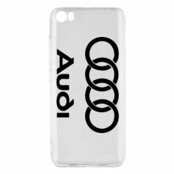 Чехол для Xiaomi Mi5/Mi5 Pro Audi