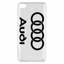 Чехол для Xiaomi Mi 5s Audi - FatLine