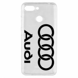 Чехол для Xiaomi Redmi 6 Audi - FatLine