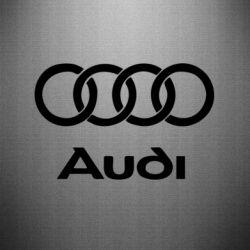 Наклейка Audi