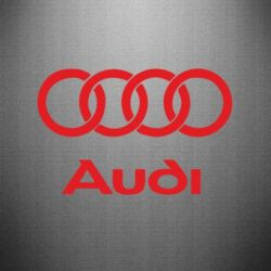 Наклейка Audi - FatLine