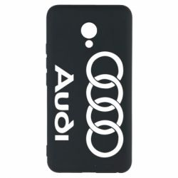 Чехол для Meizu M5 Audi - FatLine