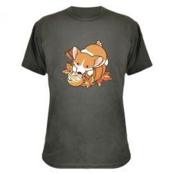 Камуфляжна футболка Autumn Corgi