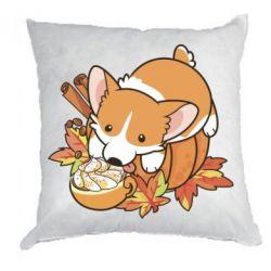 Подушка Autumn Corgi