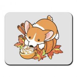 Килимок для миші Autumn Corgi