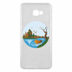 Чехол для Samsung J4 Plus 2018 Autumn fishing