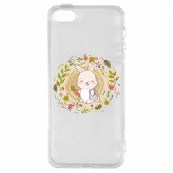 Чехол для iPhone5/5S/SE Autumn rabbit