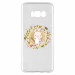 Чехол для Samsung S8 Autumn rabbit