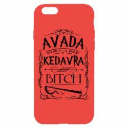 Чехол для iPhone 6/6S Avada Kedavra Bitch