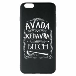 Чехол для iPhone 6 Plus/6S Plus Avada Kedavra Bitch
