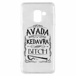 Чехол для Samsung A8 2018 Avada Kedavra Bitch