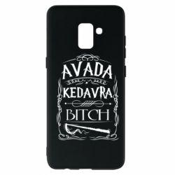 Чехол для Samsung A8+ 2018 Avada Kedavra Bitch
