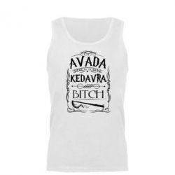 Мужская майка Avada Kedavra Bitch - FatLine