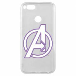 Чехол для Xiaomi Mi A1 Avengers and simple logo