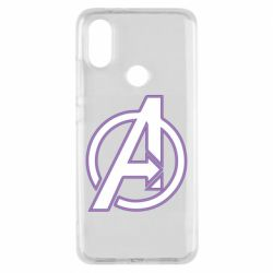 Чехол для Xiaomi Mi A2 Avengers and simple logo